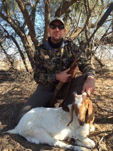 Lucas Wentzel , 243 Win, 18m, 85 gr Sierra Goat King!