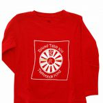 Kids T-shirt Long Sleeve (Red)